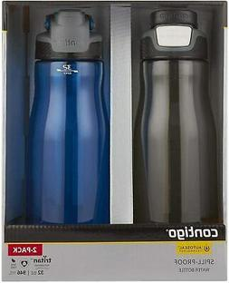 Contigo AUTOSEAL Leak-Proof Spill-Proof Water Bottle Monaco/