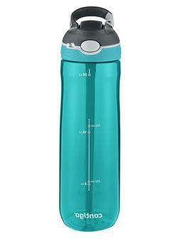 Contigo AUTOSPOUT Straw Ashland Water Bottle, 24 oz, Scuba