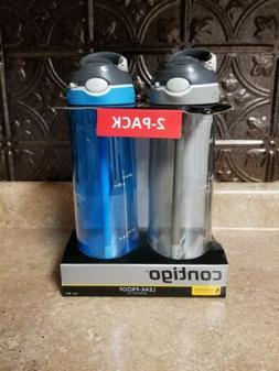 Contigo AUTOSPOUT Straw Water Bottles 24 oz Cashmere Gray &
