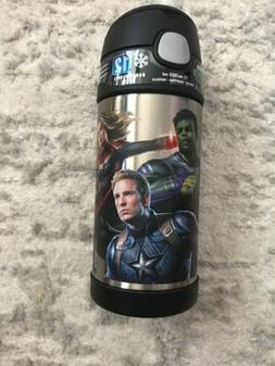 Marvel Avengers Endgame  iron Spider man Thermos Funtainer 1