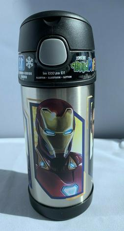 Marvel Avengers Infinity War iron Spider man Thermos Funtain