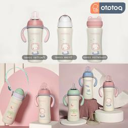 POTATO Baby Thermos Cup Water Bottle for Kids, 8 oz Stainles