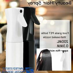 Beauty Hair Spray Mist Empty Water Bottle Sprayer Salon Hair