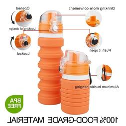 Best Backpack Water Bottle Collapsible Everyday School Offic