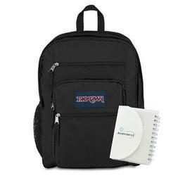 """JanSport Big Student Backpack, 15"""" Laptop Sleeve, 34L - Blac"""