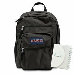 JanSport Big Student Backpack 34L - Forge Grey w/ Memo Pad