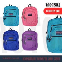 "JANSPORT Big Student Backpack TDN7 Fully Padded 15"" Laptop C"