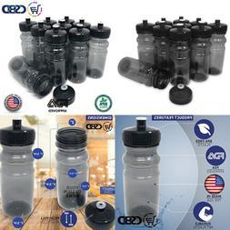 Blank 20 Oz Sports & Fitness Water Bottles BPA Free PET Plas