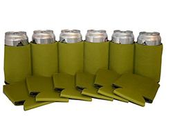 Premium Blank Can Coolers Sleeves Soft Drink Collapsible Ins