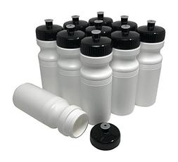 CSBD Blank 24 oz Sports and Fitness Squeeze Water Bottles, B