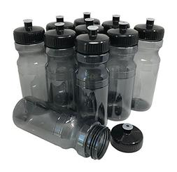 CSBD Blank 24 oz Sports and Fitness Water Bottles, BPA Free,