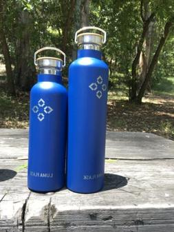 Blue 34oz Stainless Steel Vacuum Insulated Water Bottle Doub