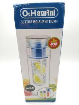 Blue Bpa Free Clear Tea Tumbler Water Bottle fruit Infuser T