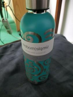 Simple Modern Bolt 17oz Water Bottle Stainless Steel Caribbe