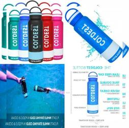 *NEW Water Sports Bottle Insulated Stainless Steel Hydro The