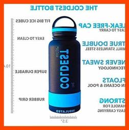 The Coldest Water Bottle Wide Mouth 32 oz Vacuum Insulated S