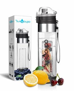 Aquafrut Bottom Loading Fruit Infuser Water Bottle  PUSH OPE