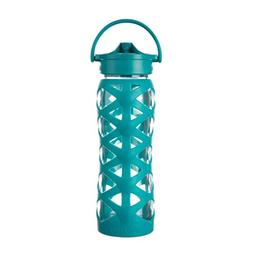 Lifefactory 22-Ounce BPA-Free Glass Water Bottle with Axis S