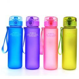 BPA Free Outdoor Sports Water Bottle Portable Leak Proof Tou