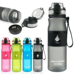 BPA FREE - Portable Sport Gym Water Bottle Cup Protein Powde