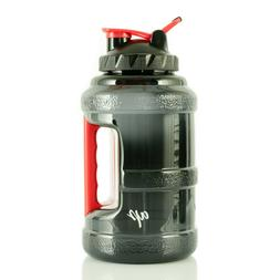 BPA-Free Water Bottle Half Gallon Plastic Jug Container with