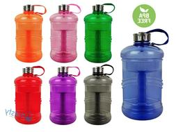 BPA Free Water Bottle Sports Gym Canteen Jug Container 2.3 L