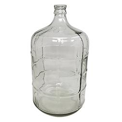 3 Gallon BPA Free Glass Reusable Water Bottle Container Jug