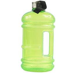 BPA Free High-Capacity Water Bottle 2.2 Liter  Wave Anti-Sli