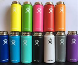 Brand New Hydro Flask Wide Mouth W/ Flat Cap Choose Color!