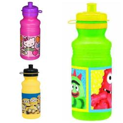 Designware ZAK! 18 oz Water Bottle Characters Lunch Thermos