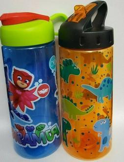 Cool Gear Dinosaur Zak PJ Mask Kids Water Bottle