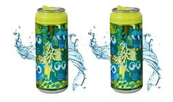 Cool Gear 16 oz. Can Chiller Graphics Design 1619  - 2 Pack