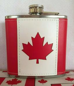 Canada hot cold red stainless steel 25 oz thermos water bott