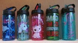 Cool Gear Children 16 oz. Plastic Water Bottle w/ Flip Up Sp