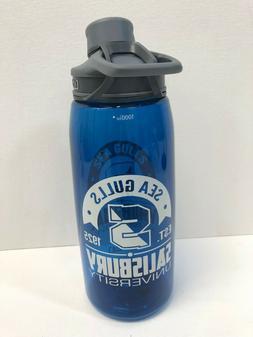 CamelBak Chute 1 Liter  Water Bottle, Blue, SALISBURY UNIVER