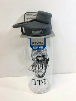 CamelBak Chute 1 Liter  Water Bottle Clear, BPD Sheepdog FIT