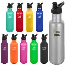 Klean Kanteen Classic 27 oz. Single Wall Bottle with 3.0 Spo