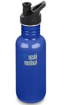 Klean Kanteen 18oz Classic Stainless Steel Water Bottle with
