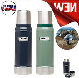 Stanley Classic Vacuum Bottle Stainless Steel Cup Thermos in
