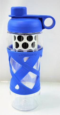 Aquasana Clean Water Active Filtered Water Bottle 20oz BLUE