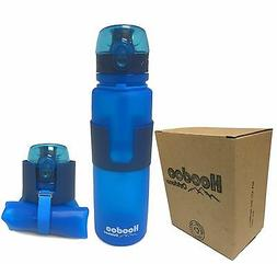 collapsible water bottle pop top bpa free