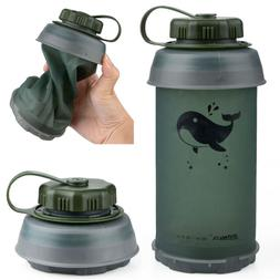 Collapsible Water Bottle Reusable Lightweight Kettle Outdoor