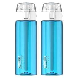 Thermos 24 Oz Connected Hydration Water Bottle with Smart Li