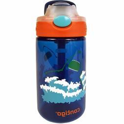 Contigo AUTOSPOUT Straw Gizmo Flip Kids Water Bottle, 14 oz.