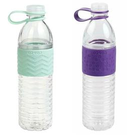 Copco Hydra Reusable Water Bottle with Tethered Leak-proof C