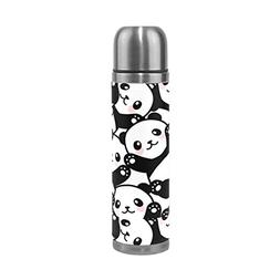 ALAZA Cute Panda Stainless Steel Water Bottle Vacuum Insulat