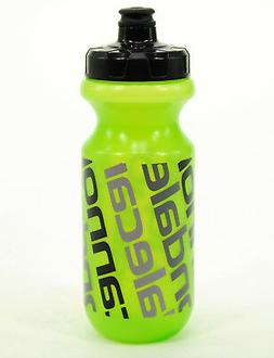 Cannondale Diagonal 20oz Bicycle Water Bottle Green/Clear