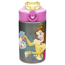 Zak Designs Disney Princess 15 oz. Stainless Steel Water Bot
