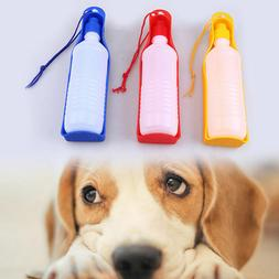 Dog Portable Travel Water Bottle Dispenser Drinking Containe