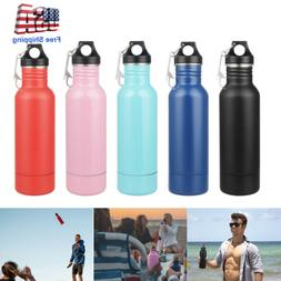 Double Wall Stainless Steel 12Oz Vacuum Flask Insulated Ther